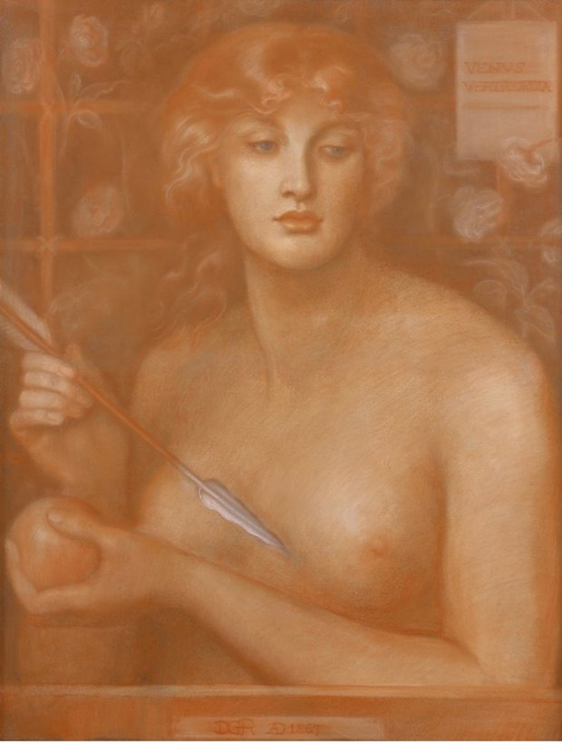 Venus Verticordia_Dante Gabriel Rossetti_1867-68